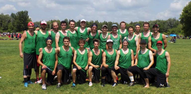 Sherbrooke Gentlemen's club photo d'équipe